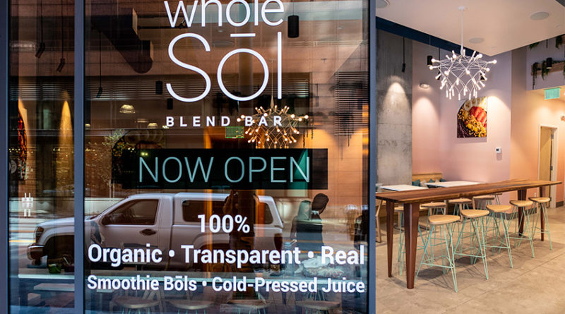 healthy whole sol store front and interior