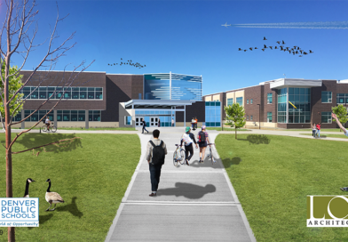 Construction Begins on the DPS Paul Sandoval Campus