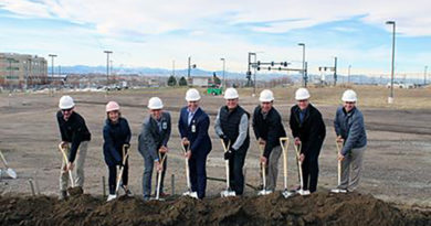 Parker MOB III groundbreaking