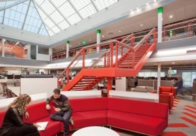 Howell Construction | Comcast's Corporate Office Renovation