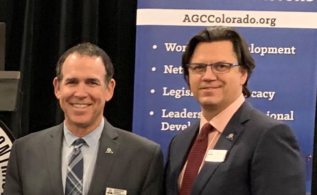 AGC of Colorado Advocates Workforce Development & Diversity with 2020 Board of Directors